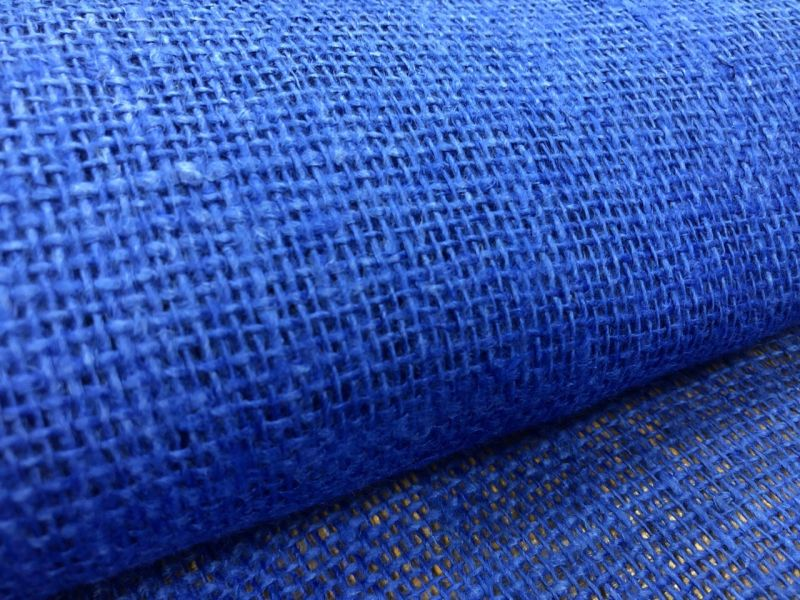 100 см. Синяя мешковина 210 г/м