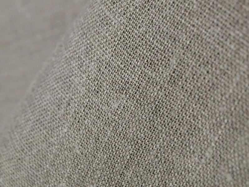180 см. Плотная льняная ткань для штор