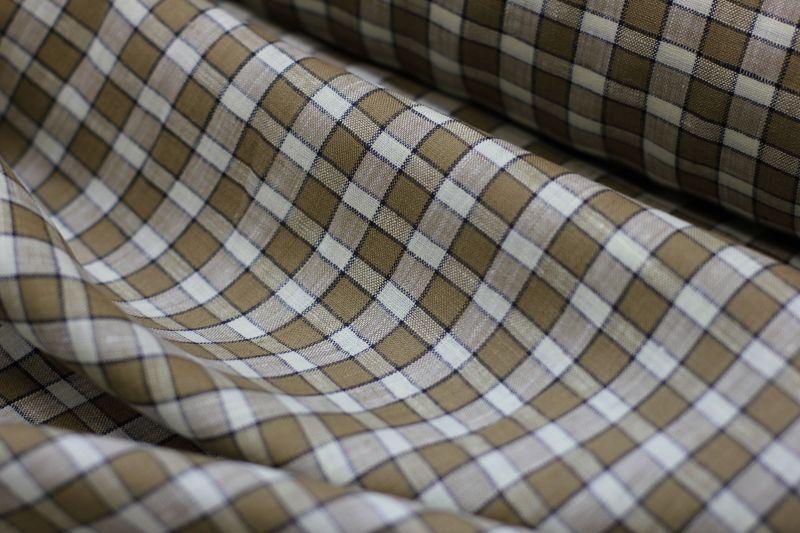 Сорочечная ткань Mc Murfe 100% лен