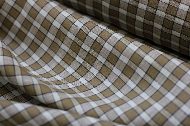 150 см. Сорочечная ткань Mc Murfe 100% лен