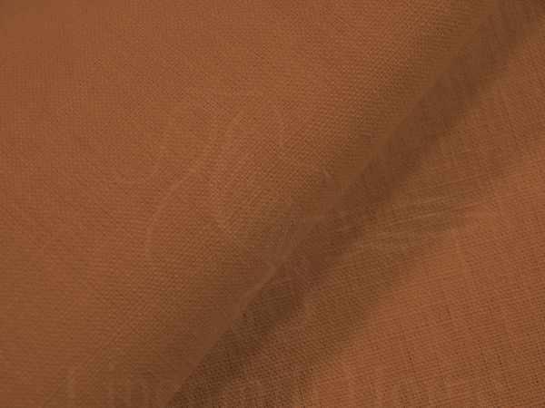 180 см. Плотная льняная ткань Охра
