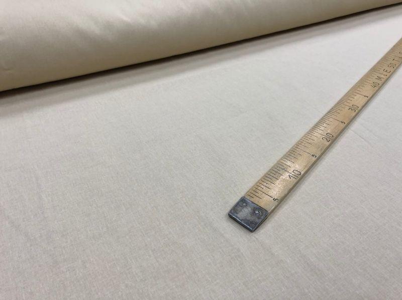 150 см. Ткань хлопковая бязь бежевая