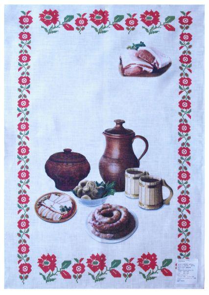 50х70 Белорусское полотенце Душа Бульбаша