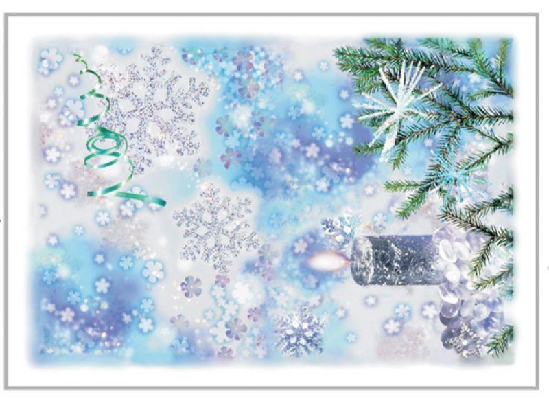 50х70 Новогоднее полотенце Свеча