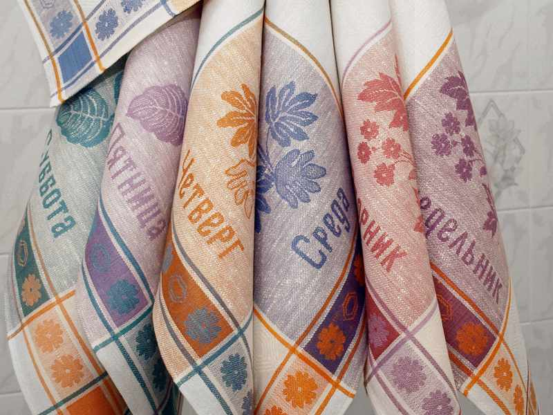 Набор полотенец Неделька 7 шт