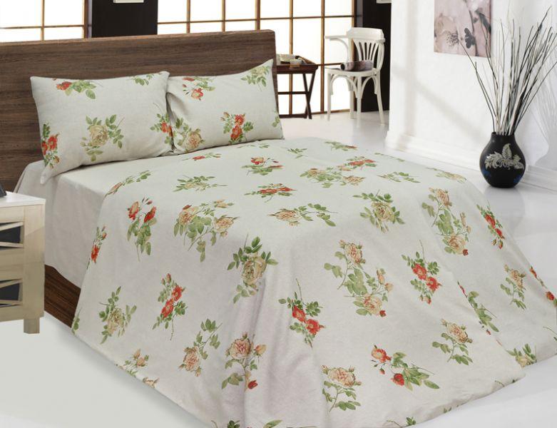 Семейный комплект постельного белья Роза Альба