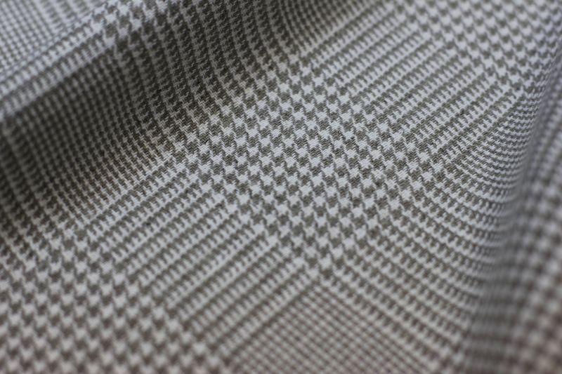 145 см. Костюмная льняная ткань Glencheck