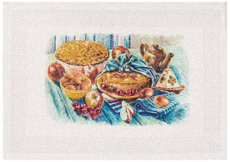50х70 Кухонное полотенце Пасхальная трапеза