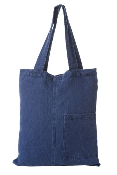 38х43 Льняная сумка Джинса