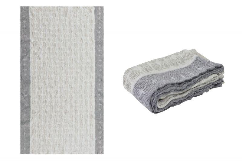 80х145 Банное полотенце Блики