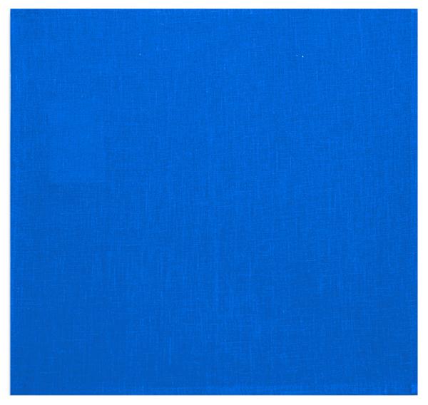 45х45 Салфетка льняная столовая Blue