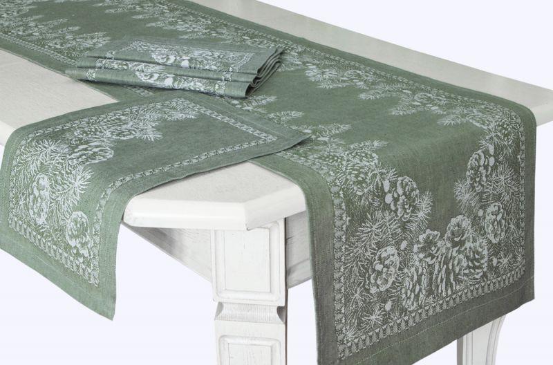 50х170 Праздничный столовый комплект Сосновый бор