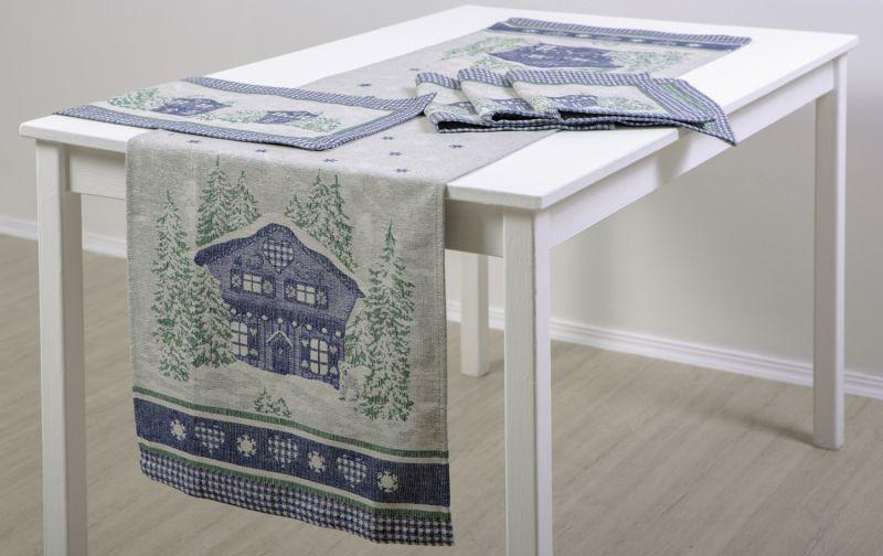 45х150 Праздничный столовый комплект Шале