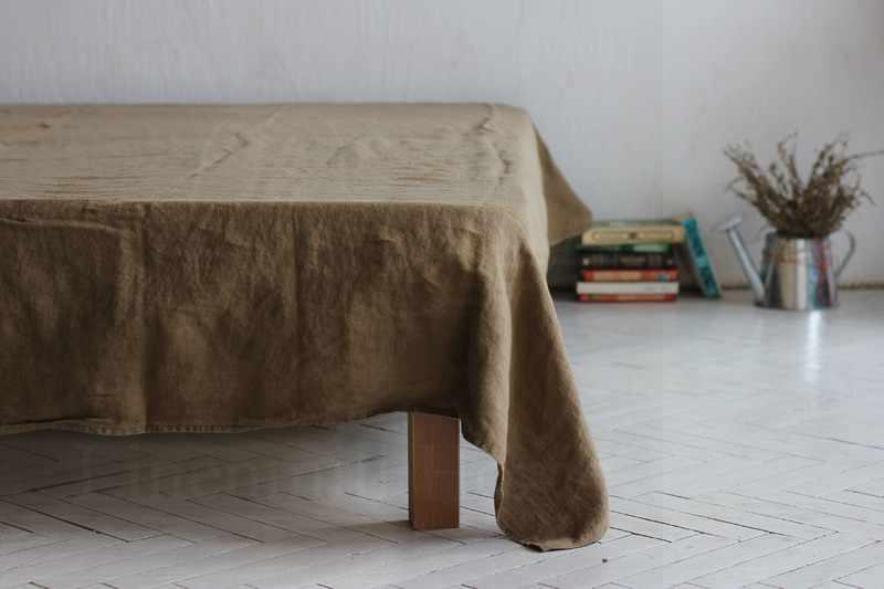 220х160 1.5 спальная мягкая льняная простынь Lifestyle