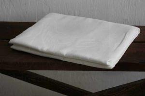 """Белая простынь """"Natural linen"""" 1.5 спальная 220х150"""