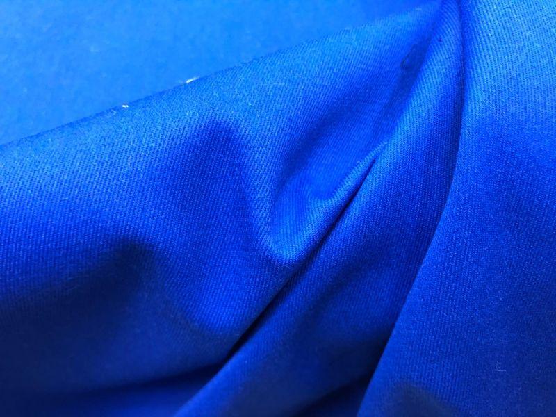 150 см. Ткань твил Синего цвета