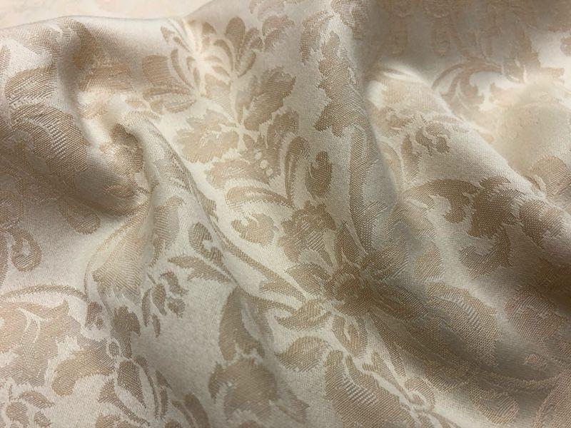 155 см. Скатертная ткань журавинка Бежевая