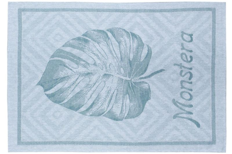 49х70 Кухонное полотенце Монстера