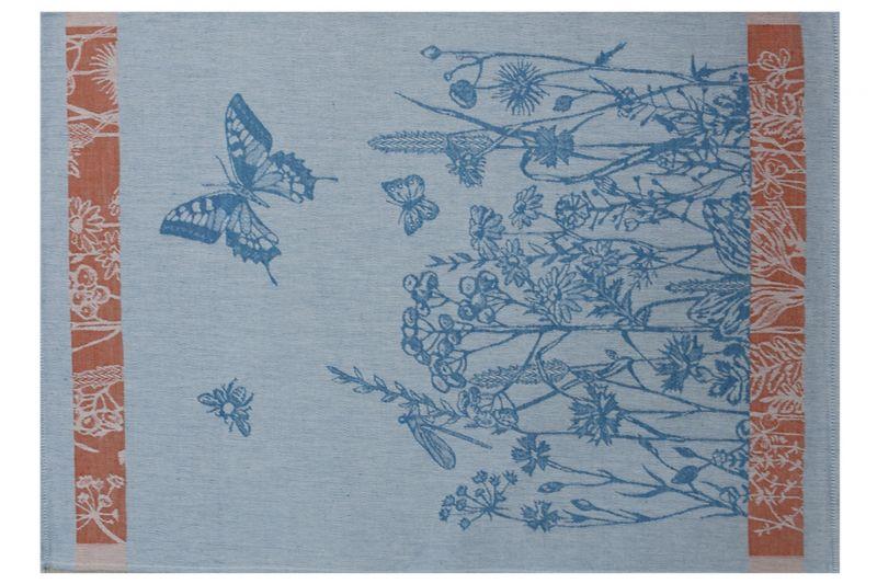 49х70 Кухонное полотенце Природа blue
