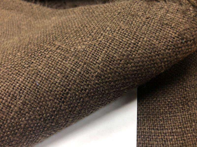 100 см. Плотная коричневая мешковина 360 г/м