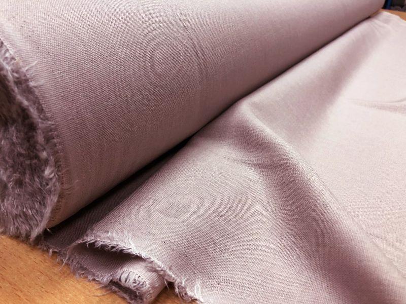 138 см. Лен с вискозой ткань для одежды Пудра
