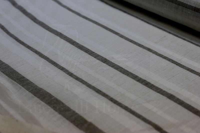Тюль с рисунком полос Поперёк