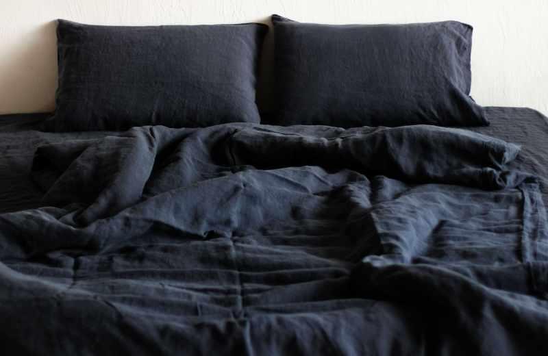 Постельное белье семейный комплект Dark Grey