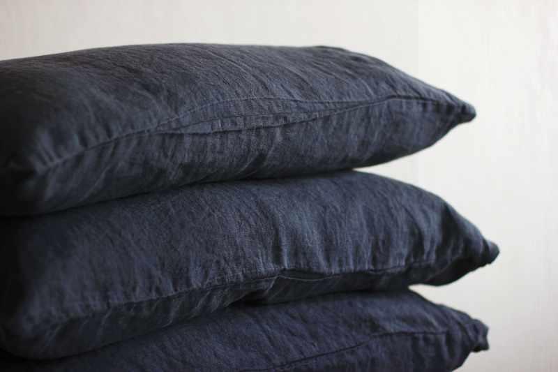 50х70 Наволочка на подушку 50 на 70 Dark grey