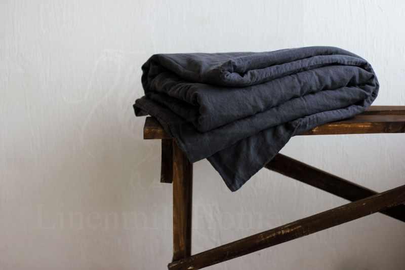 220х160 Пододеяльник 1.5 спальный Dark Grey