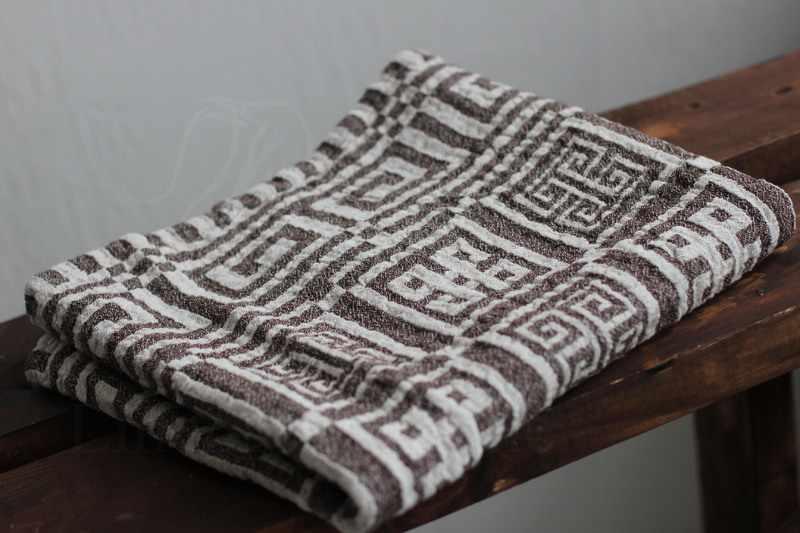 65х130 Хорошее банное полотенце Эллада