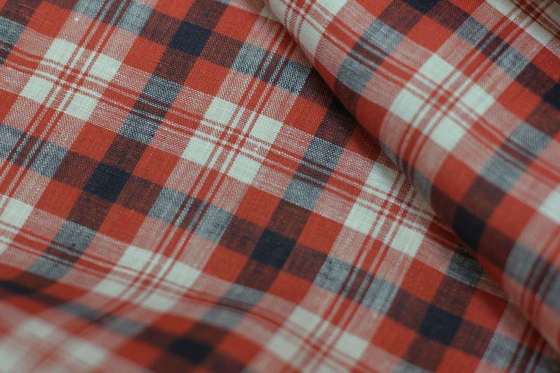 Сорочечная ткань Старый Вилли 100% лен