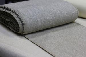Плотная узкая льняная ткань 50 см