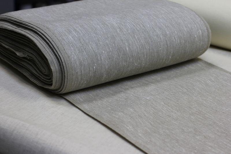 50 см. 100% лен Плотная ткань для полотенец
