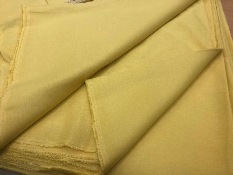 220 см. Ткань для постельного белья Желтая