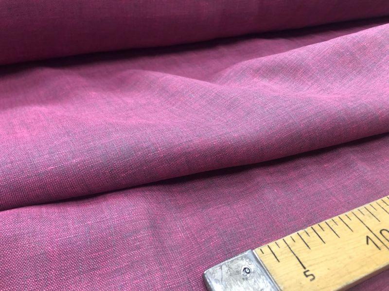 150 см. Ткань меланж Розово-серый