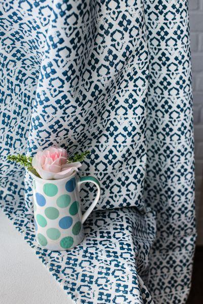 150 см. Дизайнерская ткань для штор с рисунком Амелия