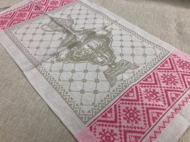 49х90 Кухонное полотенце Самовар
