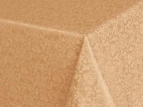 Жаккардовая ткань Журавинка бежевого цвета