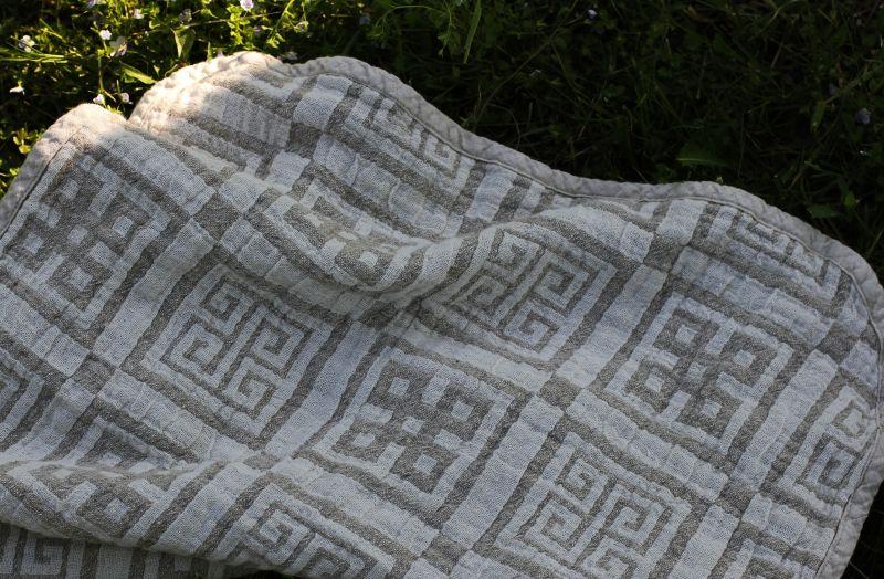 60х120 Банное полотенце Греческий бог Посейдон