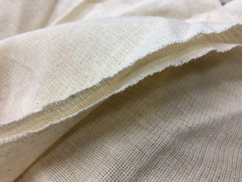 150 см. Ткань хлопковая бязь суровая широкая
