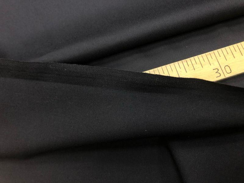 150 см. Ткань твил Черного цвета