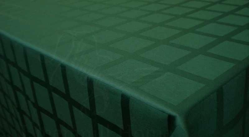 155 см. Ткань журавинка в клетку Зеленая