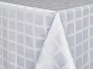 155 см. Ткань Журавинка 6 клетчатая Белая (1/010101)