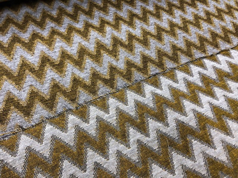 159 см. Декоративная ткань для штор Зигзаг