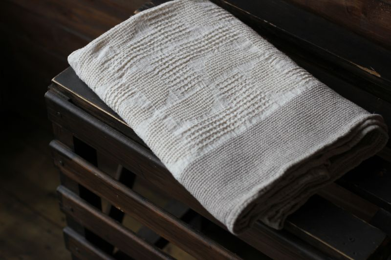 80х145 Банное полотенце Имитация