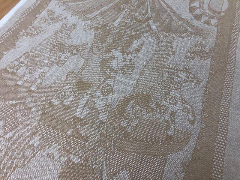 50 см. Ткань для полотенец Карусель