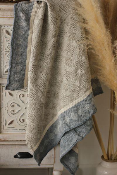 80х145 Банное полотенце Абстракция