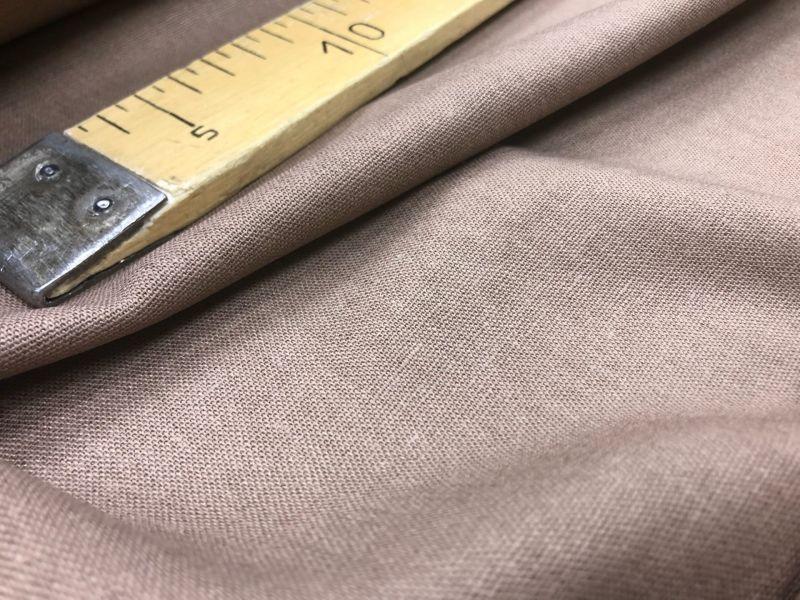138 см. Лен с вискозой ткань для одежды Капуцин