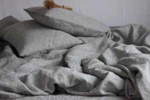 """Льняное постельное белье 1.5 спальное """"Nature linen"""""""
