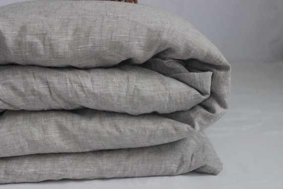 150х205 Льняной пододеяльник Natural Linen